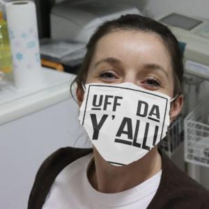 Uff Da Y'all Cloth Face Mask