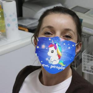 Unicorn - Ew People Cloth Face Mask