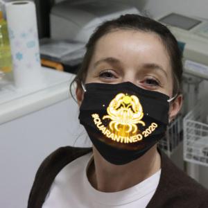 Zodiac - Cancer #Quarantined 2020 Cloth Face Mask