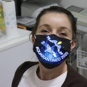 Zodiac - Sagittarius #Quarantined 2020 Cloth Face Mask