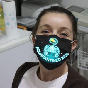 Zodiac - Scorpio #Quarantined 2020 Cloth Face Mask