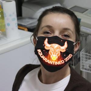 Zodiac - Taurus #Quarantined 2020 Cloth Face Mask