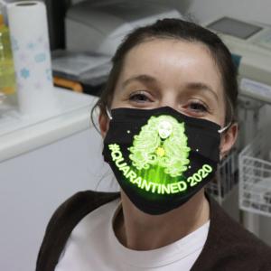 Zodiac - Virgo #Quarantined 2020 Cloth Face Mask