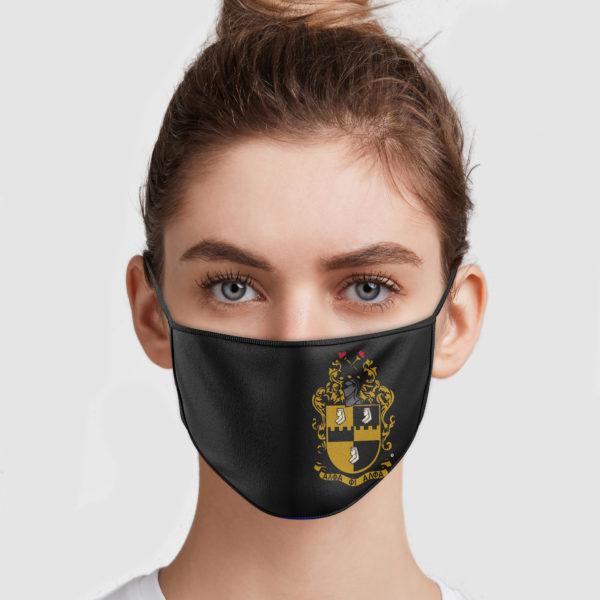 Alpha Phi Alpha Fraternity Face Mask