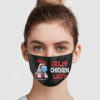 Crazy Chicken Lady 2020 Quarantined Face Mask
