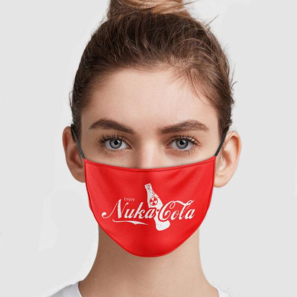 Enjoy Nuka Cola Face Mask