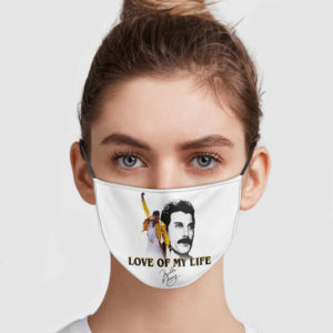 Freddie Mercury Love Of My Life Face Mask