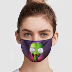 Gir Invader Zim Face Mask