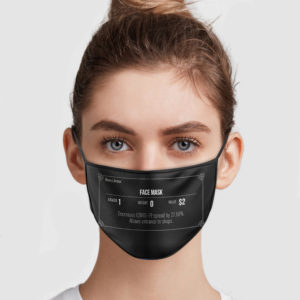 Heavy Armor Face Mask – Decreases COVID-19 Spread By 27,58% Face Mask