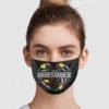 I'm A Crocsaholic Face Mask