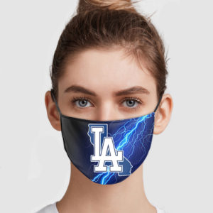 Los Angeles Dodgers Face Mask