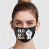 No Justice No Peace Face Mask