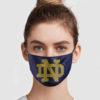 Notre Dame Face Mask