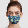 The Starry Night – Van Gogh Face Mask