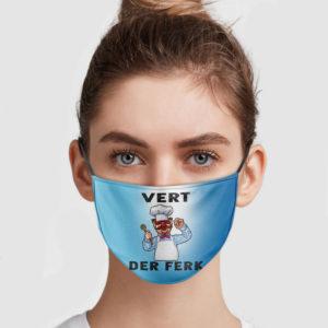 Vert Der Ferk Face Mask