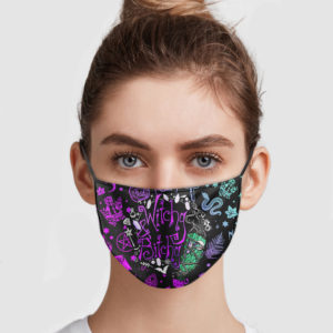 Witchy And Bitchy Face Mask
