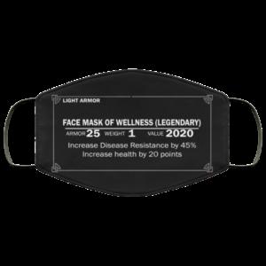 Light Armor – Face Mask Of Wellness Legendary Face Mask