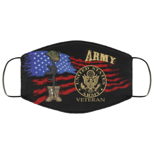 United States Army Veteran Face Mask