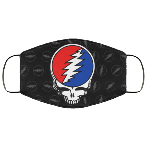 Grateful Dead Face Mask