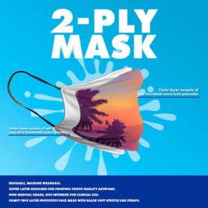 Two-layer Face mask - Cloth Face Mask