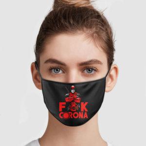 Deadpool – Fuck Corona Face Mask