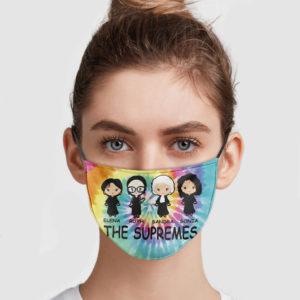 Elena Ruth Sandra Sonia The Supremes Face Mask
