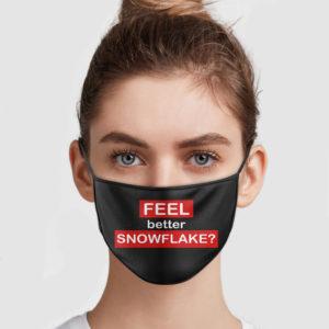 Feel Better Snowflake Face Mask