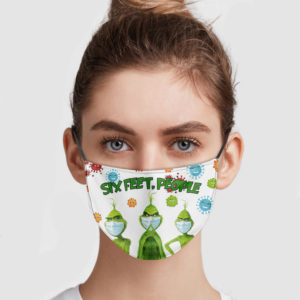 Grinch – Six Feet People Face Mask