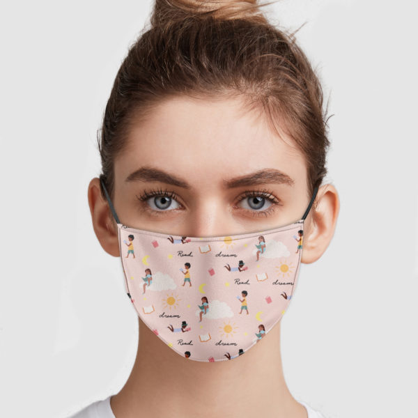 Readers and Dreamers Face Mask