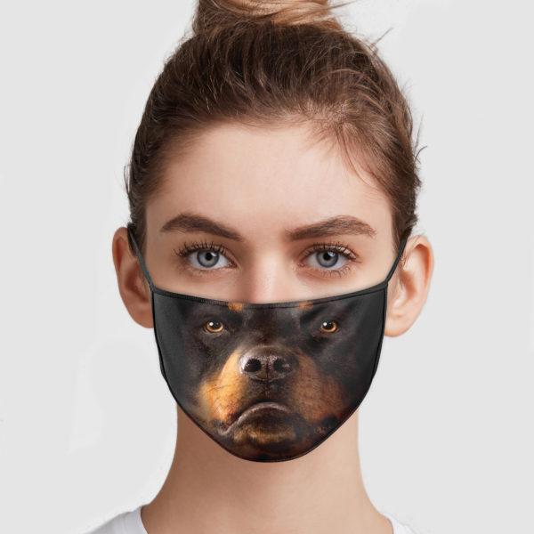 Rottweiler Face Mask