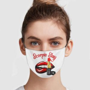 Scorpio Slay Face Mask