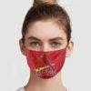 St Louis Cardinals Face Mask