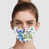 Stitch – Walk Away I Have Anger Issues And A Serious Dislike For Stupid People Face Mask