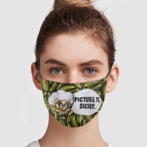 The Golden Girls – Picture It Sicily Face Mask