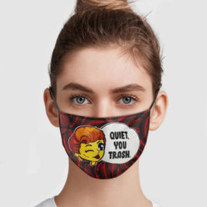 The Golden Girls – Quiet You Trash Face Mask