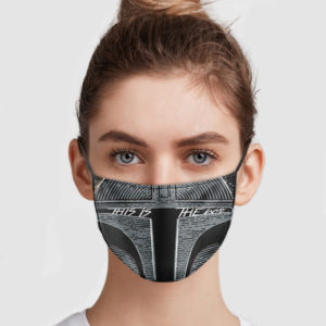 The Mandalorian – This Is The Way Face Mask