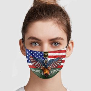 US Army Veteran Face Mask