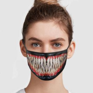 Venom Mouth Face Mask