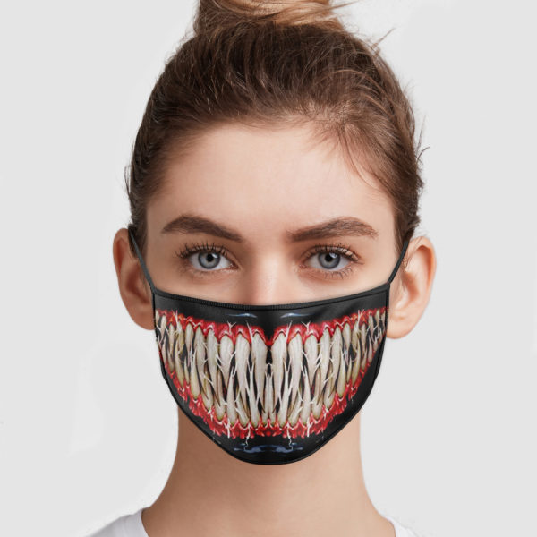 Venom Mouth Face Mask
