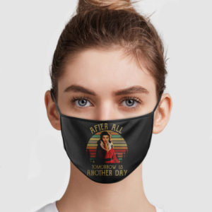 Vivien Leigh – After All Tomorrow Is Another Day Face Mask