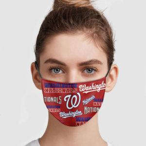 Washington Nationals Face Mask
