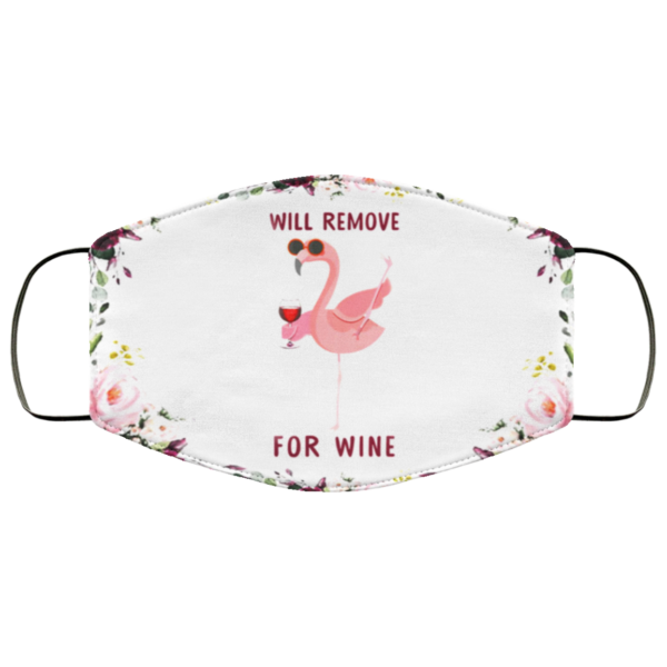 Flamingo – Will Remove For Wine Face Mask