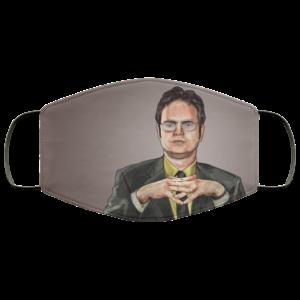The Office Dwight Schrute Rainn Wilson Face Mask