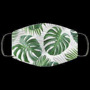 Tropical Leaf Face Mask