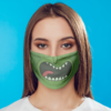 Rick And Morty - Pickle Rick Face Mask