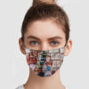 Beauty And The Beast Reading Book Face Mask