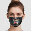 Breast Cancer Fight Like A Girl Unbreakable Face Mask