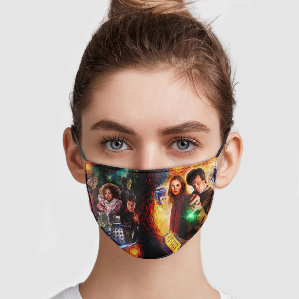 Doctor Who Face Mask
