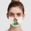 Drop Dead Fred Hey Snot Face Face Mask
