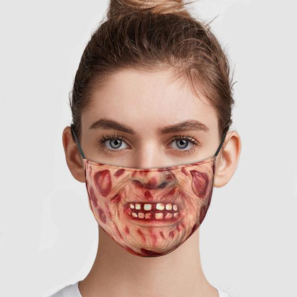 Freddy Krueger Mouth Face Mask